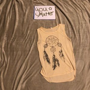Project social T feather dream catcher shirt